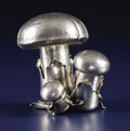Silver Holloware, Continental:Holloware, An Italian Silver Salt and Pepper Set. Mario Buccellati, Milan,Italy. After 1968. Silver. Marks: BUCCELLATI, ITALY, STE...