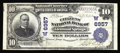 National Bank Notes:Colorado, Glenwood Springs, CO - $10 1902 Plain Back Fr. 624 The Citizens NB Ch. # (W)6957. This new to the census western slope e...