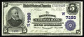 National Bank Notes:Colorado, Montrose, CO - $5 1902 Plain Back Fr. 598 The Montrose NB Ch. #(W)7288. This piece is not only new to the census from h...