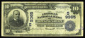 National Bank Notes:Kentucky, Bowling Green, KY - $10 1902 Date Back Fr. 618 The American NB Ch.# (S)9365. The American was the smallest of two natio...