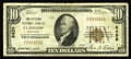 National Bank Notes:Kentucky, Glasgow, KY - $10 1929 Ty. 1 The Citizens NB Ch. # 8439. This Fineaddition to the census is only the fourth $10 Typ...