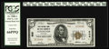 National Bank Notes:Kentucky, Lexington, KY - $5 1929 Ty. 2 First NB & TC Ch. # 906. An idealnote for type, bearing the coveted grade of PCGS Gem N...