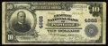 National Bank Notes:Maine, Portland, ME - $10 1902 Plain Back Fr. 630 The Chapman NB Ch. # 4868. Harry S. Boyd and P.F. Chapman ran this private na...