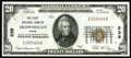 National Bank Notes:Maine, Skowhegan, ME - $20 1929 Ty. 1 The First NB Ch. # 239. Here is alightly handled original note with embossing and dark i...