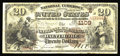 National Bank Notes:Maryland, Baltimore, MD - $20 1882 Brown Back Fr. 494 The National ExchangeBank Ch. # (E)1109. This addition to the census makes ...