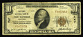 National Bank Notes:Maryland, New Windsor, MD - $10 1929 Ty. 1 The First NB Ch. # 747. Thisdiscovery makes the tenth 1929 now documented from here. I...