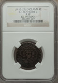 Great Britain, Great Britain: Henry V Groat (1413-22) F12 NGC,...