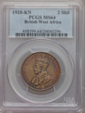 British West Africa, British West Africa: George V 2 Shillings 1920-KN MS64 PCGS,...