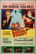 """Movie Posters:Mystery, 23 Paces to Baker Street & Other Lot (20th Century Fox, 1956).Posters (2) (40"""" X 60"""") Type Z. Mystery.. ... (Total: 2 Items)"""