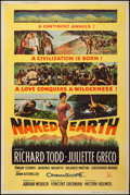 """Movie Posters:Drama, The Naked Earth & Other Lot (20th Century Fox, 1958). Posters (2) (40"""" X 60"""") Type Z. Drama.. ... (Total: 2 Items)"""