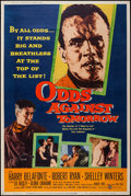 """Movie Posters:Crime, Odds Against Tomorrow (United Artists, 1959). Poster (40"""" X 60"""")Style Z. Crime.. ..."""