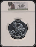 Modern Bullion Coins, 2012 25C El Yunque Five-Ounce Silver, Early Releases MS69 Deep Mirror Prooflike NGC. PCGS Population (71...