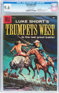 Silver Age (1956-1969):Western, Four Color #875 Trumpet's West - File Copy (Dell, 1958) CGC NM+ 9.6Off-white pages....
