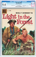 Silver Age (1956-1969):Adventure, Four Color #891 Light in the Forest - File Copy (Dell, 1958) CGC NM 9.4 Off-white to white pages....