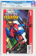 Modern Age (1980-Present):Superhero, Ultimate Spider-Man #1 (Marvel, 2000) CGC NM/MT 9.8 White pages....