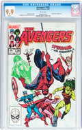 Modern Age (1980-Present):Superhero, The Avengers #236 (Marvel, 1983) CGC MT 9.9 White pages....