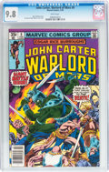 Bronze Age (1970-1979):Adventure, John Carter, Warlord of Mars #9 (Marvel, 1978) CGC NM/MT 9.8 White pages....
