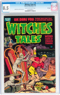 Golden Age (1938-1955):Horror, Witches Tales #4 File Copy (Harvey, 1951) CGC VF+ 8.5 Cream tooff-white pages....