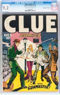 """Golden Age (1938-1955):Crime, Clue Comics #11 Dave Crippen (""""D"""" Copy) pedigree (HillmanPublications, 1946) CGC NM- 9.2 Cream to off-white pages...."""
