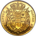 Italy:Florence, Italy: Florence - Tuscany. Leopold II gold 80 Fiorini 1828 MS64NGC,...