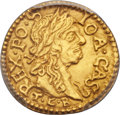 Lithuania, Lithuania: Johann Casimir gold 1/2 Ducat 1665-TLB/HKPL UNCDetails (Cleaning) PCGS,...