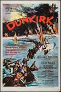 "Movie Posters:War, Dunkirk and Other Lot (MGM, 1958). One Sheets (2) (27"" X 41"").War.. ... (Total: 2 Item)"