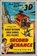 "Movie Posters:Thriller, Second Chance & Other Lot (RKO, 1953). One Sheets (2) (27"" X 41"") 3-D Style & Regular. Thriller.. ... (Total: 2 Items)"