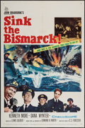 "Movie Posters:War, Sink the Bismarck! & Other Lot (20th Century Fox, 1960). OneSheets (2) (27"" X 41""). War.. ... (Total: 2 Items)"