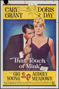 "Movie Posters:Comedy, That Touch of Mink (Universal International, 1962). One Sheet (27""X 41""). Comedy.. ..."