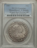 Early Half Dollars, 1807 50C Draped Bust, O-105, R.1, -- Mount Removed -- PCGS Genuine.Fine Details. NGC Census: (2/45). PCGS Population (5/18...