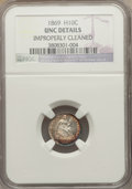 Seated Half Dimes: , 1869 H10C -- Improperly Cleaned -- NGC Details. Unc. NGC Census: (2/84). PCGS Population (6/78). Mintage: 208,000. Numismed...