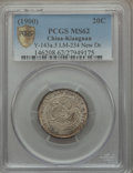 China:Kiangnan, China: Kiangnan. Kuang-hsü 20 Cents CD (1900) MS62 PCGS,...