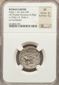 Ancients:Roman Imperial, Ancients: Philip I (AD 244-249). AR antoninianus (4.00 gm)....