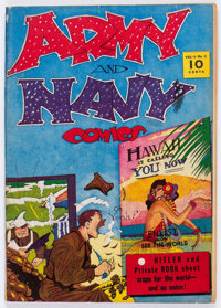 Army and Navy Comics #1 (Street & Smith, 1941) Condition: VG