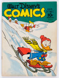 Golden Age (1938-1955):Cartoon Character, Walt Disney's Comics and Stories #17 (Dell, 1942) Condition: VG+....