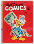 Golden Age (1938-1955):Cartoon Character, Walt Disney's Comics and Stories #20 (Dell, 1942) Condition:GD-....
