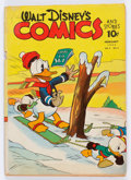 Golden Age (1938-1955):Cartoon Character, Walt Disney's Comics and Stories #29 (Dell, 1943) Condition:GD+....