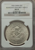 China:Kiangnan, China: Kiangnan. Dollar CD 1902 AU55 NGC,...