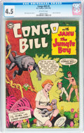 Golden Age (1938-1955):Adventure, Congo Bill #3 (DC, 1954) CGC VG+ 4.5 Off-white pages....