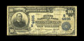 National Bank Notes:Virginia, Newport News, VA - $10 1902 Plain Back Fr. 628 The First NB Ch. #(S)4635. This is a new note for the census that stands...