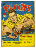 """Golden Age (1938-1955):Science Fiction, The Funnies #49 Davis Crippen (""""D"""" Copy) pedigree (Dell, 1940)Condition: FR. Overstreet 2006 GD 2.0 value = $55. Fromthe..."""
