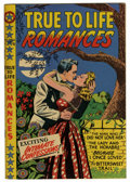 "Golden Age (1938-1955):Romance, True-To-Life Romances #5 Davis Crippen (""D"" Copy) pedigree (Star Publications, 1950) Condition: VF+. L.B. Cole cover. Overst..."