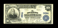 National Bank Notes:Wisconsin, Oconto, WI - $10 1902 Plain Back Fr. 626 The Oconto NB Ch. # 3541. This is the tougher of the two banks in town and that...