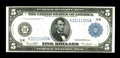 Large Size:Federal Reserve Notes, Fr. 887a $5 1914 Federal Reserve Note Gem New. When this note was first seen we realized how nice it was. The paper is white...