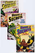 Silver Age (1956-1969):Horror, House of Mystery Group (DC, 1954-73) Condition: Average GD-.... (Total: 33 Comic Books)