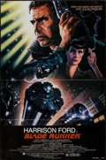 "Movie Posters:Science Fiction, Blade Runner (Warner Brothers, 1982). One Sheet (27"" X 41"").Science Fiction.. ..."