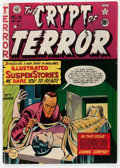 Golden Age (1938-1955):Horror, Crypt of Terror #18 (EC, 1950) Condition: Apparent VG....