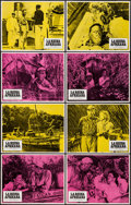 "Movie Posters:Adventure, The African Queen (Columbia, R-1975). Lobby Card Set of 8 (11"" X14""). Adventure.. ... (Total: 8 Items)"