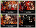 "Movie Posters:Science Fiction, Flash Gordon (Universal, 1980). Lobby Card Set of 4 (11"" X 14"").Science Fiction.. ... (Total: 4 Items)"