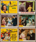 "Movie Posters:Comedy, A Date with Judy & Others Lot (MGM, 1948). Title Lobby Card& Lobby Cards (4) (11"" X 14""). Comedy.. ... (Total: 6 Items)"